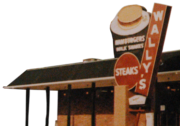 old wally's sign